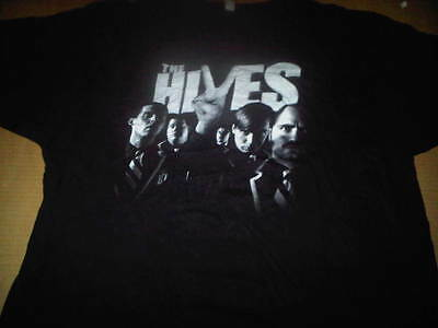 The Hives 2XL XXL 2007 Black And White Tour Shirt