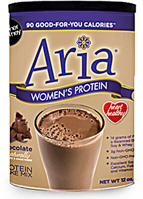 Aria Women's Protein, Designer Whey, 12 oz Chocolate