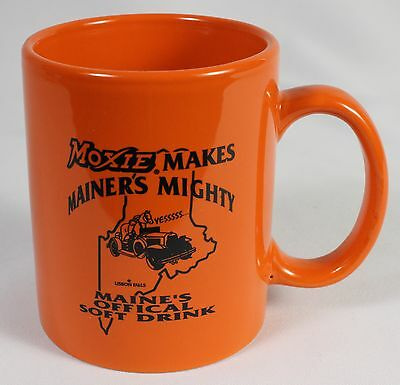 MOXIE SODA COLLECTIBLE MUG Maine's Official Soft Drink Tonic Ceramic Glass Cup