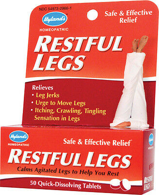 Hyland's Restful Legs, Hyland's Homeopathic, 50 tablet