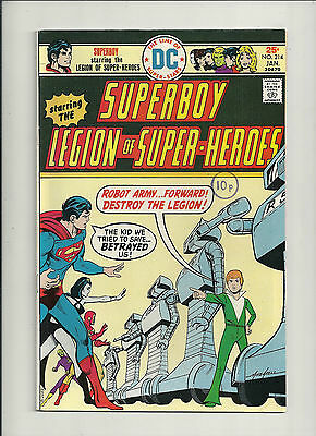 Superboy (Legion of Superheroes)  #214  NM-
