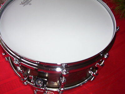 """REMO  6.5"""" by 14""""  Gold Crown snare"""