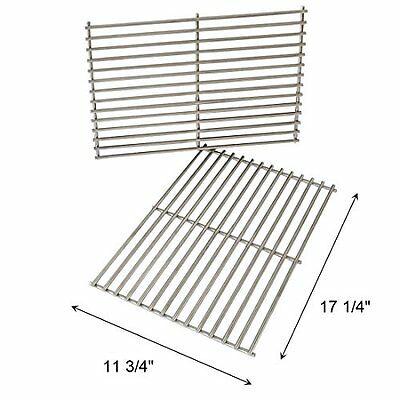 Replacement BBQ Stainless Steel Cooking Grids Grill Grates for Weber 7527 Lowes