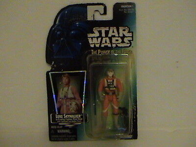 Star Wars Power Of The Force Luke Skywalker X Wing Fighter Original Collection