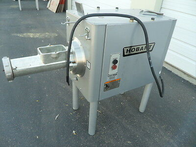 Hobart Commercial Meat Grinder with Feeder Tray Model 4146 Barely Used