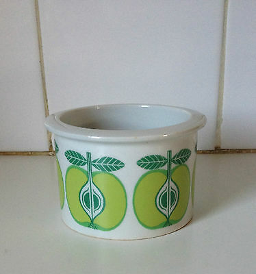 Arabia Finland Apple Jam Pot Vintage Scandinavian Design Retro