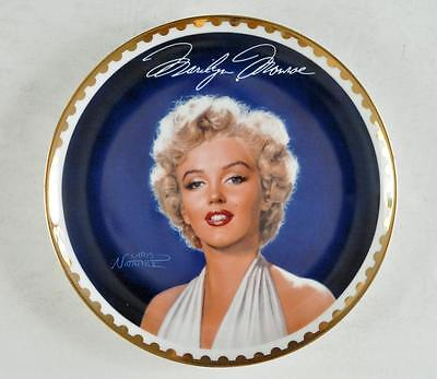 Marilyn Monroe The Gold Collection Collector Plate Bradford Exchange 7th issue