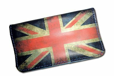 Tobacco Case Pouch Synthetic Leather Bag Rolling Smoke United Kingdom Flag
