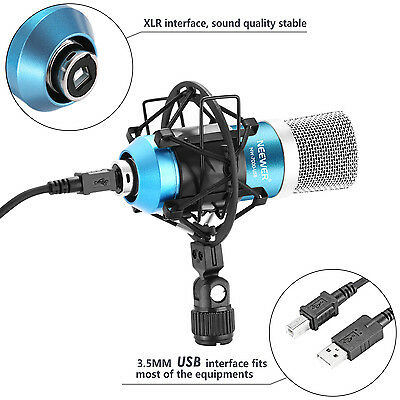 Neewer NW-7000 USB Professional Studio Condenser Microphone Kit