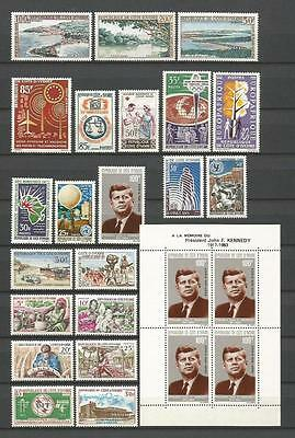 Cote D`ivoire 1963-1967 Nice Selection Mnh ** 50+ Stamps