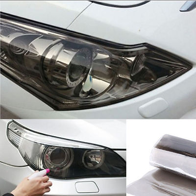 1M*30CM Light Black Chameleon Car Headlight Taillight Fog Light Vinyl Tint Film