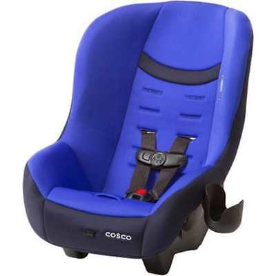 COSCO Convertible Car Seat Toddler Kid Baby Scenera NEXT Blue Rear Front Face