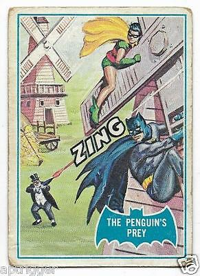 1966 Batman Blue Bat (18B) The Penguin's Prey