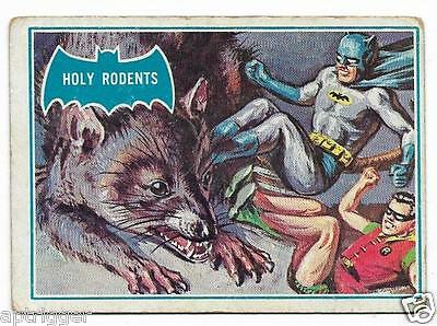 1966 Batman Blue Bat (35B) Holy Rodents