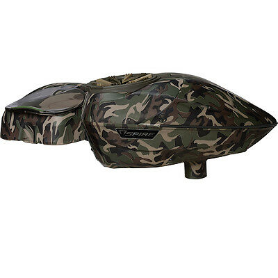 Virtue Spire 200 Electronic Paintball Loader - SE Camo w/Crown 2.5