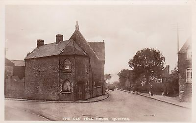 The Old Toll House, Quinton, Birmingham, Real photo, old postcard, unposted