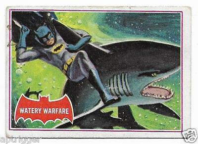 1966 Batman Red Bat (37A) Watery Warfare