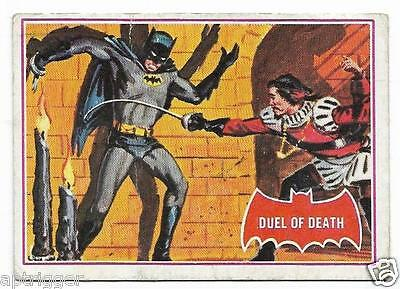 1966 Batman Red Bat (41A) Duel of Death