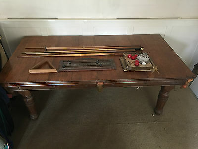 E J Riley / Rileys snooker table pool table with top