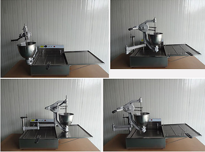 New Commercial Automatic Donut Making Machine Poti Donut Fryer,Electric