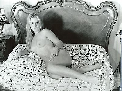 Photo Vintage ,  Pin-Up Blonde , Charme , Hubert Toyot , 1969