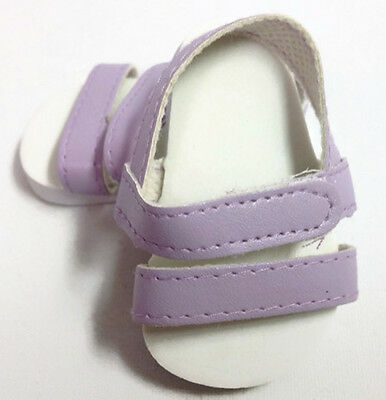 Doll Clothes fits American Girl Doll - Lavender Sandal Shoes