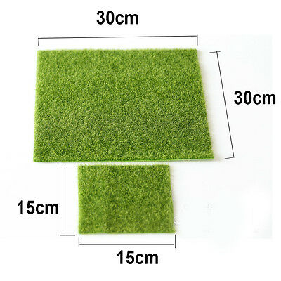 Garden Yard Green Grass Lawn Moss Miniature Craft Pot Fairy Dollhouse Decoration