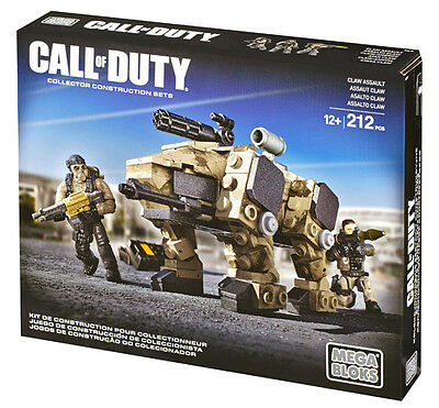 Mega Bloks Call Of Duty Claw Assault Building System Brand New In Box Dcl10
