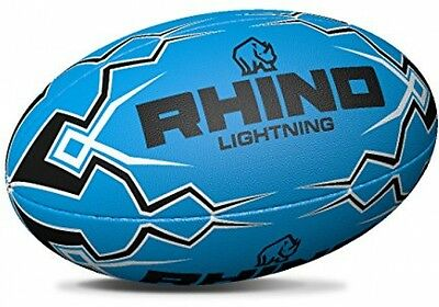 Rhino Lightning Blue Touch Rugby Rugby Ball | RBLB-4