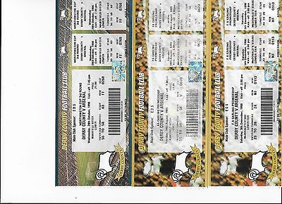 TICKET 1998/99 Derby County v Arsenal League UNUSED MINT