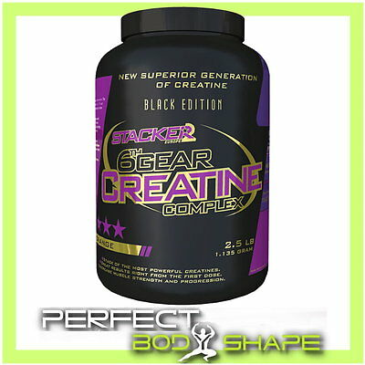 6th Gear Creatine Complex – Stacker2 Europe | Patented six-part creatine stack