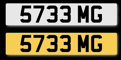 5733 MG Cherished number For Immediate Transfer