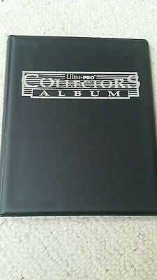 Ultra Pro Black 4-Pocket Collectors Portfolio: Trading Card Album