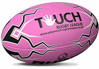 Rhino Pink Touch Rugby League Rugby Ball | RRL-TOUCH-PK