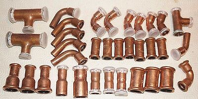 Job Lot of 15mm and 22mm press fit copper Geberit Mapress Xpress