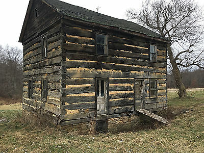 Antique Hand Hewn Log home