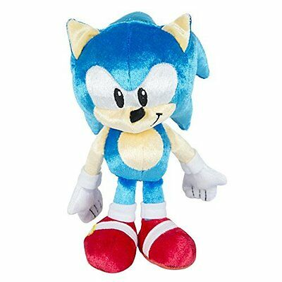 "Sonic the Hedgehog 25th Anniversary 8"" Plush Toy - Sonic - T22329 - NEW"
