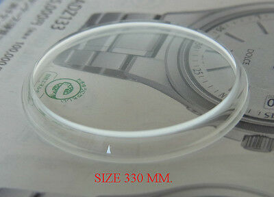 New Mineral Glass Size 330 For Replacement Seiko 6139-6002,6139-6030,6139-6011
