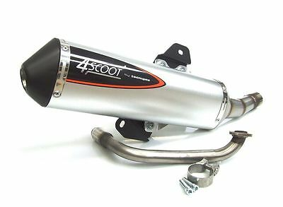 New Sym Simply 125 4 Scoot Technigas Complete Exhaust System