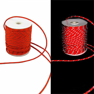 5MM Camping Tent Awning Reflective Guyline Rope Runners Guy Line Cord Paracord