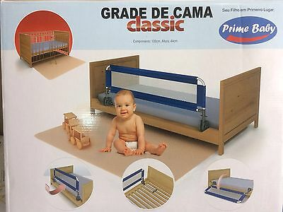 WHITE Bed Rail Safety Guard for Toddlers Baby Kids Children FREE P&P NEW