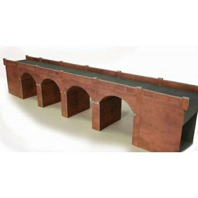 Metcalfe Oo/ho - Po240 - Double Track Red Brick Viaduct - Bnib: Free Uk Post