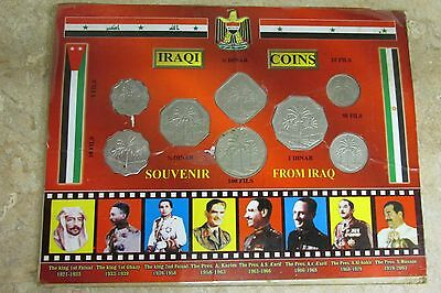 Iraqi Souvenir Coin Set From Iraq