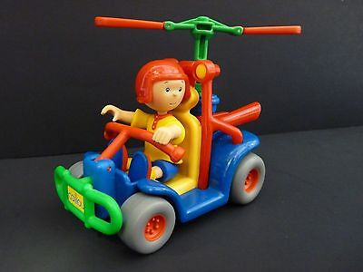 Caillou Rescue Adventure Flying Go Cart & Figure Irwin Toy 2002