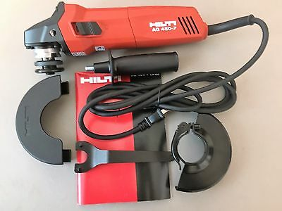"""Hilti  4 1/2"""" Angle grinder AG 450-7S 120 Volt (NEW  in Box) FREE SHIPPING"""