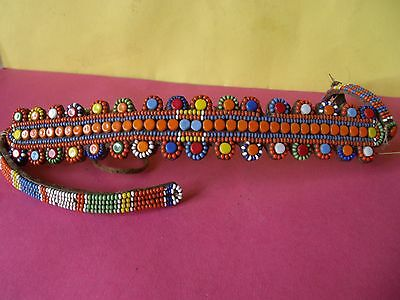 Vintage African Bead Work Collar
