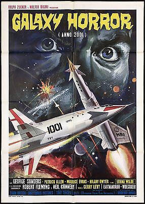 Galaxy Horror Manifesto Cinema Fantascienza The Body Stealers Uk Movie Poster 2F