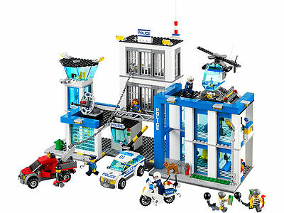 Lego City Police Station - 60047 - Brand New And Sealed - Retired