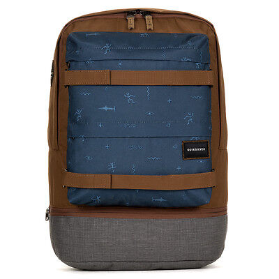 Quiksilver Twin Backpack Backpack Chocolate