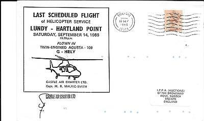 Lundy: Helicopter Services
